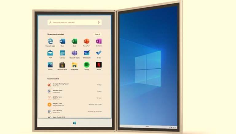 Microsoft Mengumumkan Windows 10X Akan Datang Pada Akhir 2020