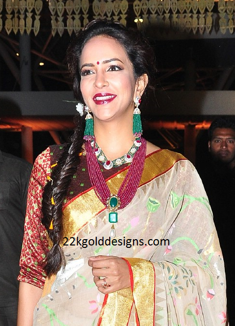 Lakshmi Manchu in Beads Jewellery
