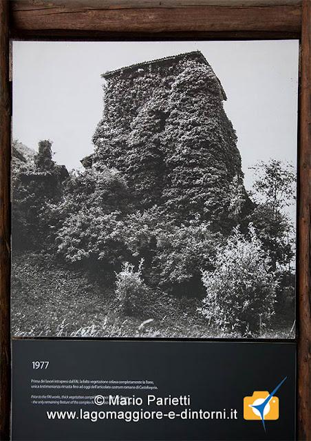 La torre di Torba prima del restauro