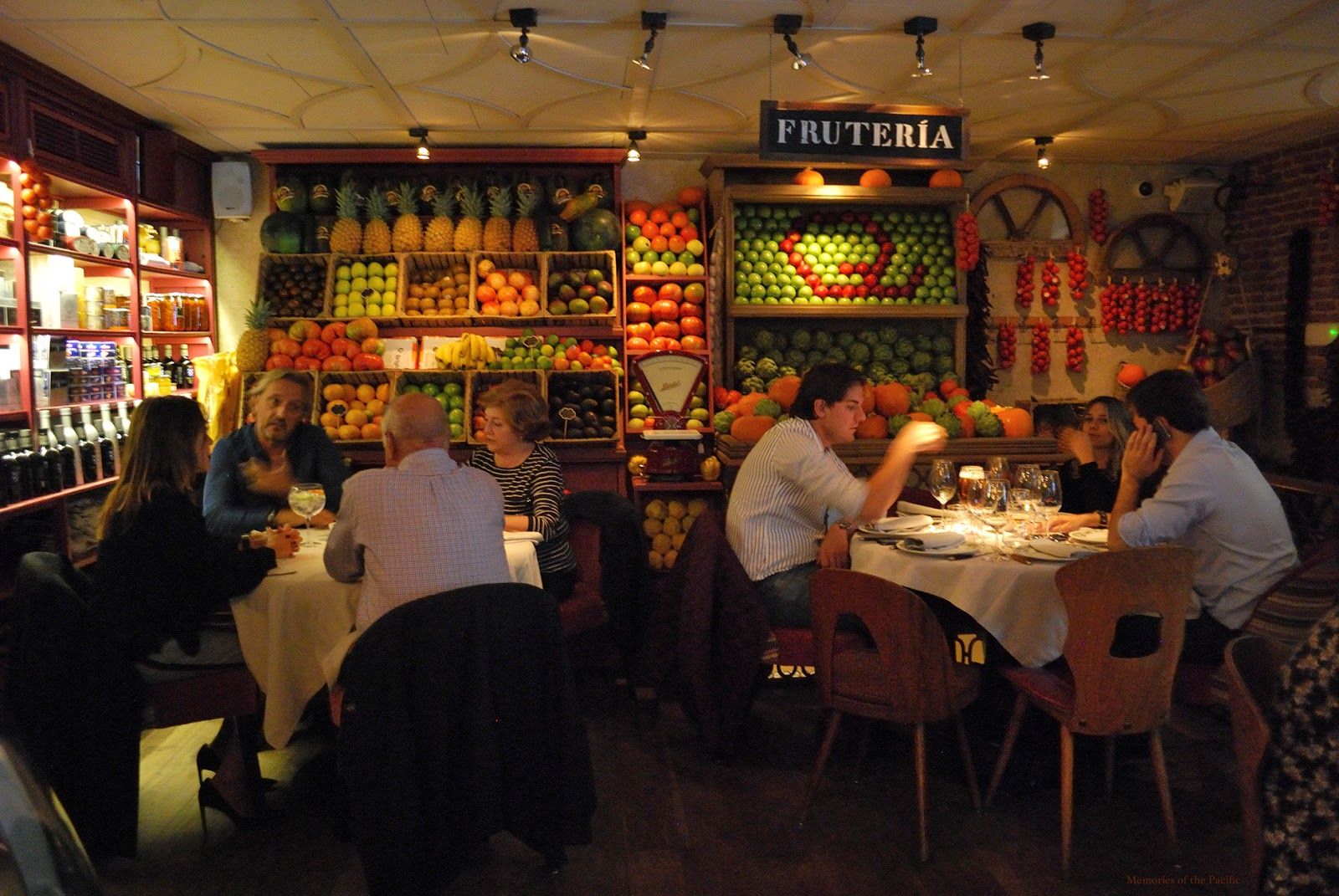 ultramarinos quintin restaurant madrid