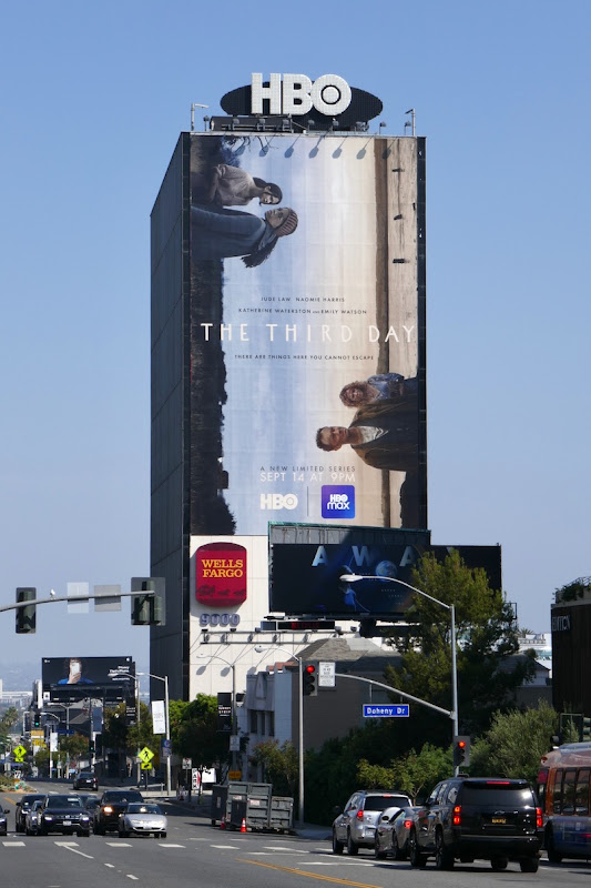 Third Day limited series billboard Sunset Strip