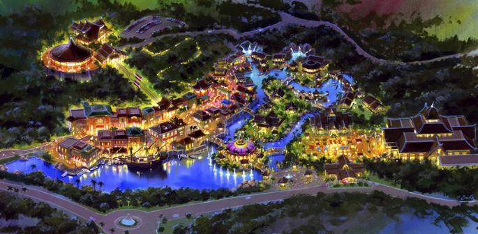 Ilustrasi Entertainment City at Lido Lakes Resort