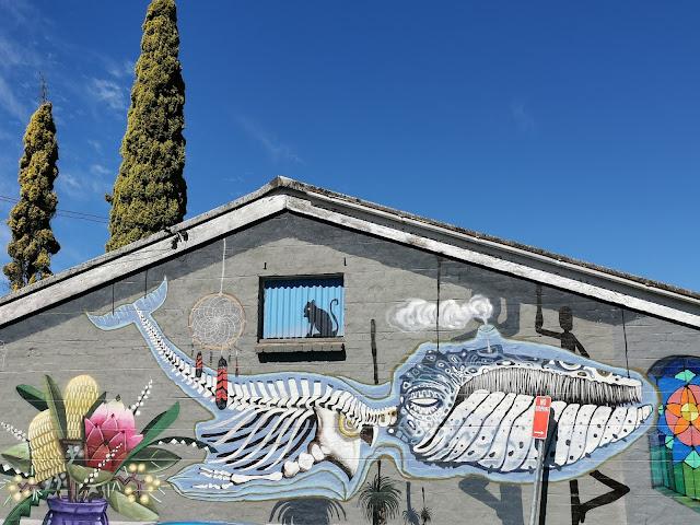 Katoomba Street Art   Krimsone & Mahtous