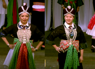 Hmong Clothes in Tet Festival/Special occasions
