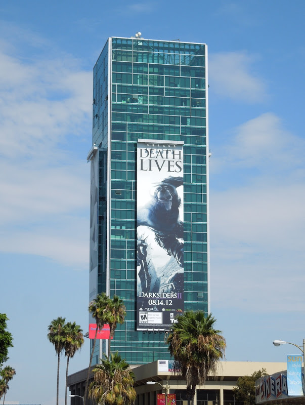 Death Lives Darksiders II game billboard