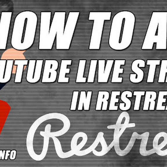 Restream.io Tutorial ★ How To Add YouTube Live Stream In Restream.io