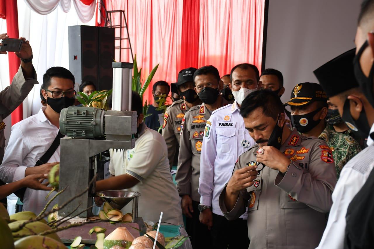 Pjs. Bupati Sergai Menyambut Kunjungan Kepala Badan Pemelihara Keamanan (Kabaharkam) Polri ke Sergai