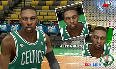 NBA 2K14 Jeff Green Cyberface Patch