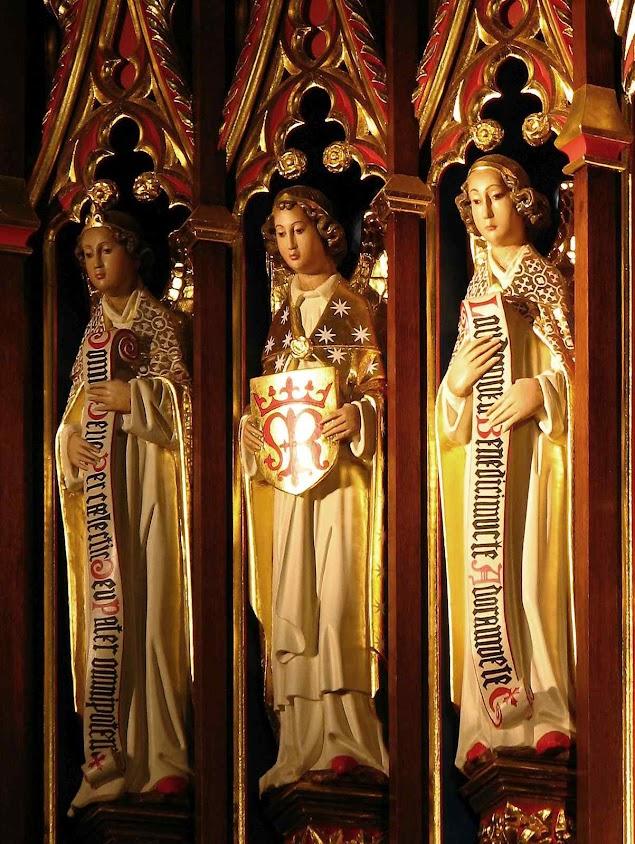 Santos Anjos, catedral de Leeds, Inglaterra