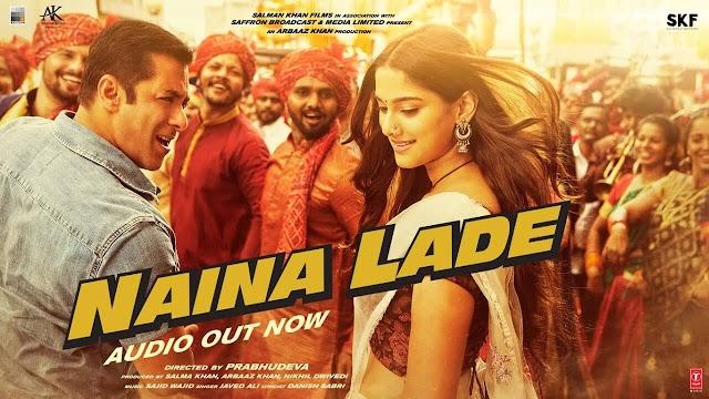 Naina Lade Lyrics - Dabangg 3 - Javed Ali