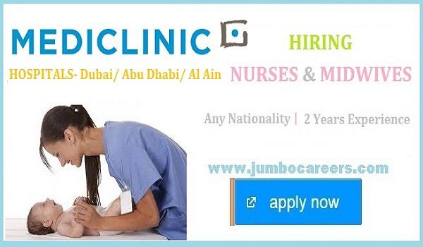 nurse jobs uae 2021, nursing jobs in uae 2021