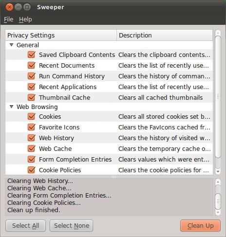 Beberapa Alternatif CCleaner Untuk Ubuntu dan Turunannya