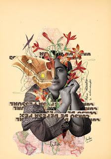 Colagem Malala Youzafzai por Maria Rosa