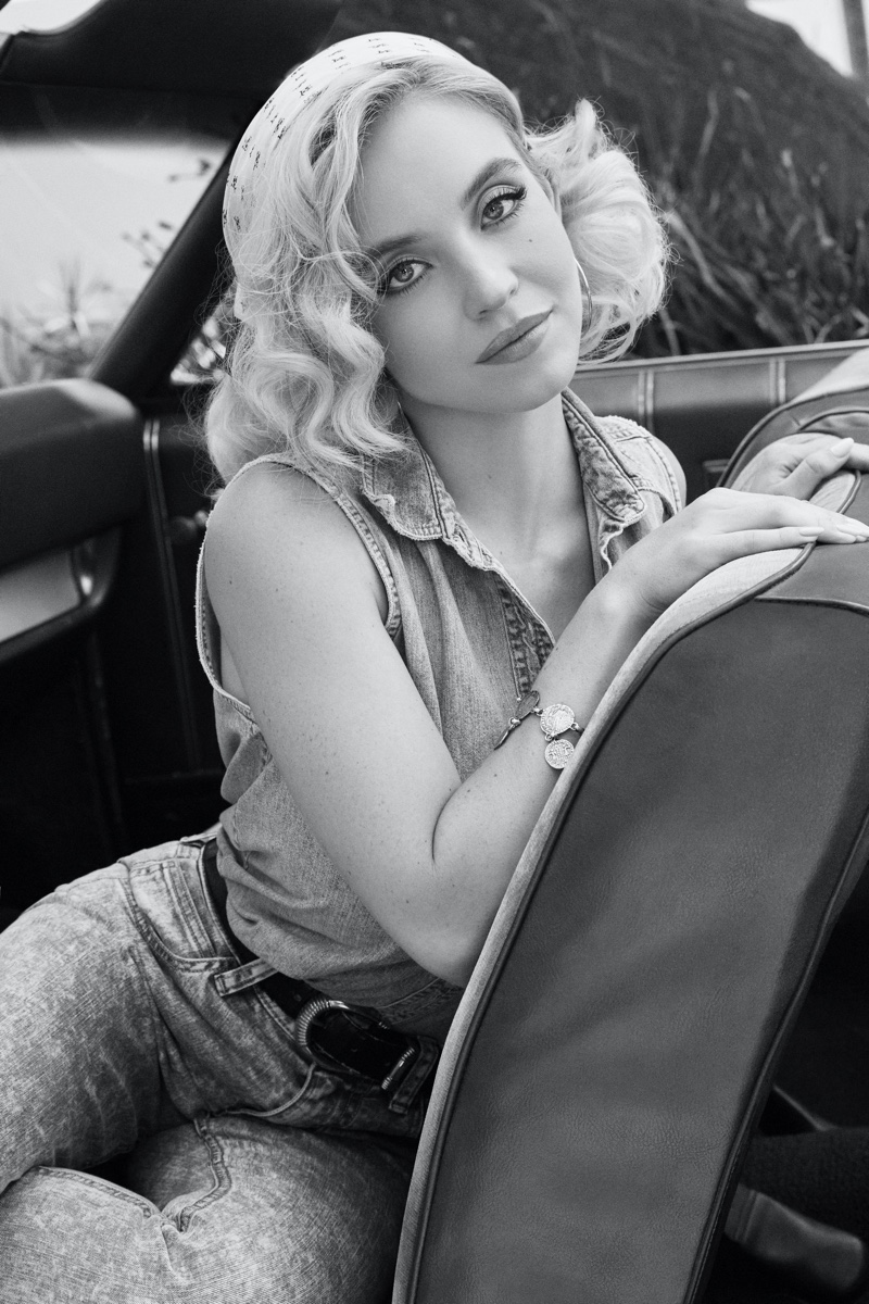 Sydney Sweeney stars in GUESS Originals x Anna Nicole Smith campaign