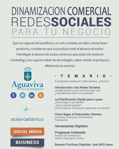 Dinamización comercial: redes sociales para tu negocio