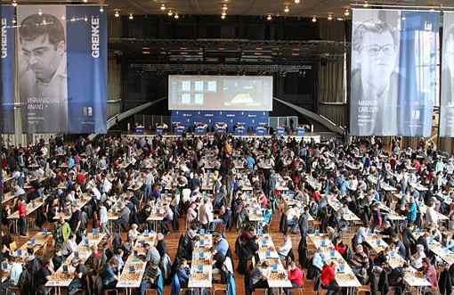 Une vue du lieu du festival d'échecs - Photo © site officiel
