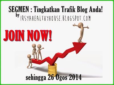Segmen Tingkatkan Trafik Blog by Irsyahealthyhouse