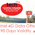 Airtel 4g data offer up to 30 GB 4G Data