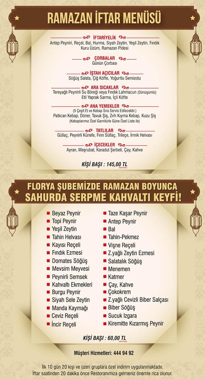 florya ziya şark softarsı iftar menüsü ziya şark sofrası menü birecikli iftar menüsü istanbul iftar mekanları