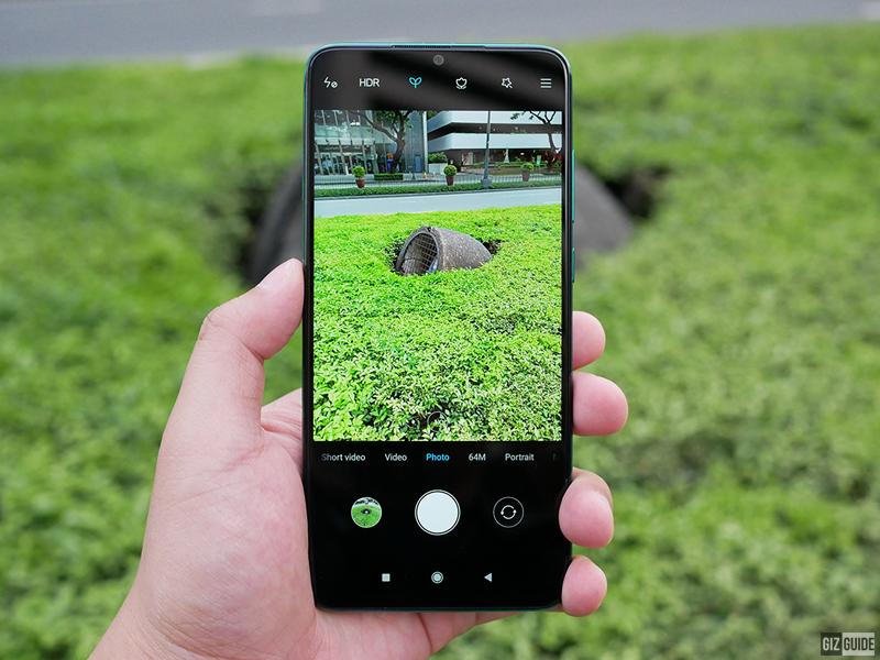 Xiaomi's camera interface