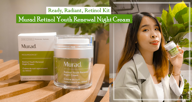 Ready, Radiant, Retinol Kit - Murad Retinol Youth Renewal Night Cream