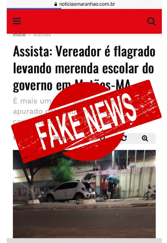 Direção do Centro de Ensino João Paulo I emite nota sobre Fake News que acusa vereador Hagamenon de desvio de merenda escolar