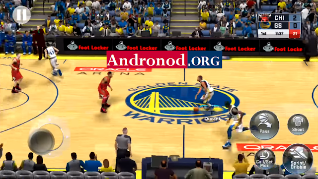 NBA 2K18 Mod Money v35.0.1 Apk Data Terbaru