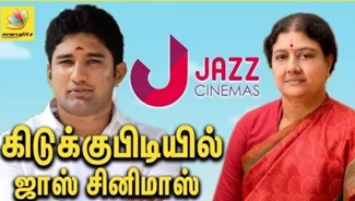 Tax Raids on Vivek's JAZZ Cinemas | Sasikala Family IT Raid