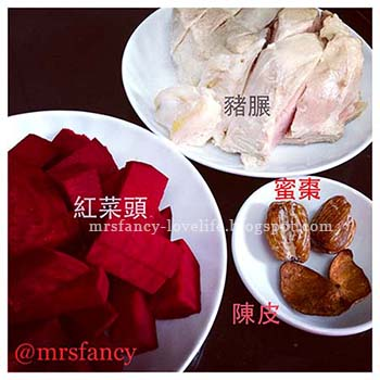 Mrsfancy Love Life 享受生活每一天: 防癌補血湯水_Fusion紅菜頭湯 GEG0082