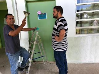 Prefeitura de Cananéia realiza manutenção em prédios públicos