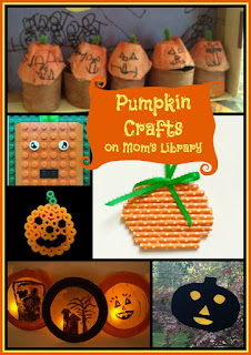 Pumpkin Crafts on Mom's Library