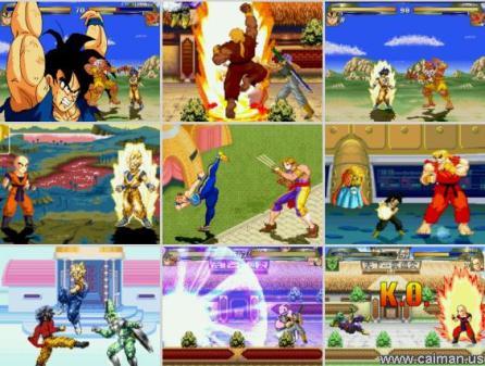Dragon Ball vs Street Fighter 3 Free Download