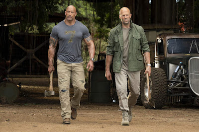 Hobbs And Shaw Jason Statham Dwayne Johnson Image 2