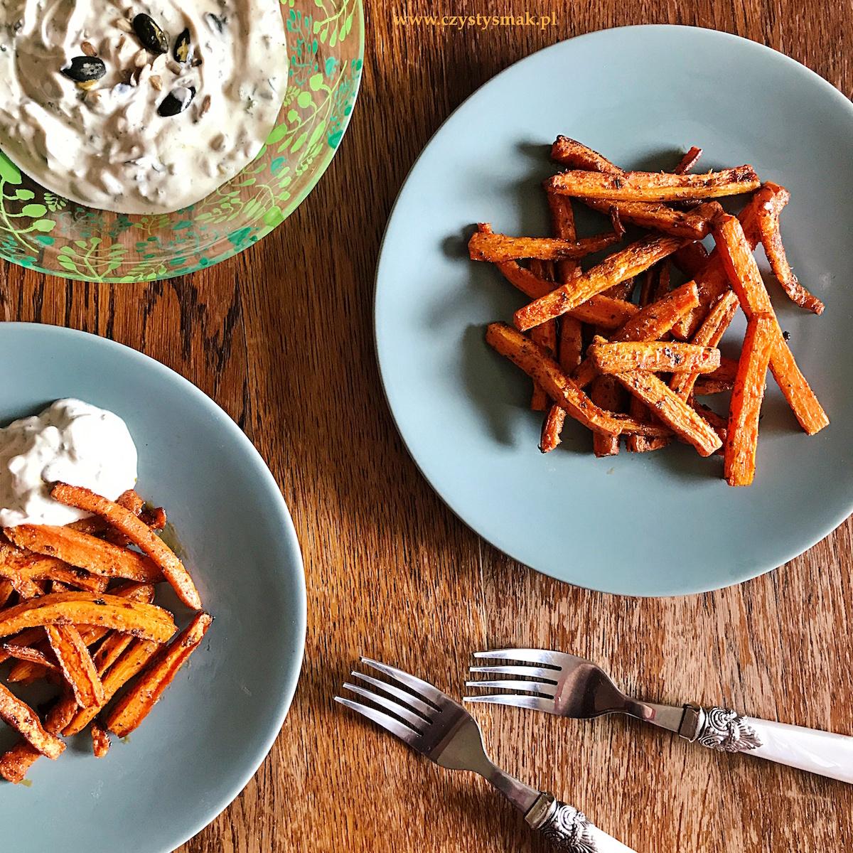 Frytki na płodność czyli frytki z marchewki