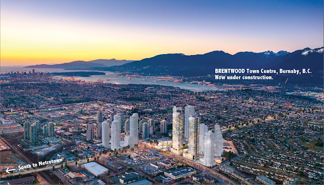 The Amazing Brentwood - new development in Burnaby, B.C.