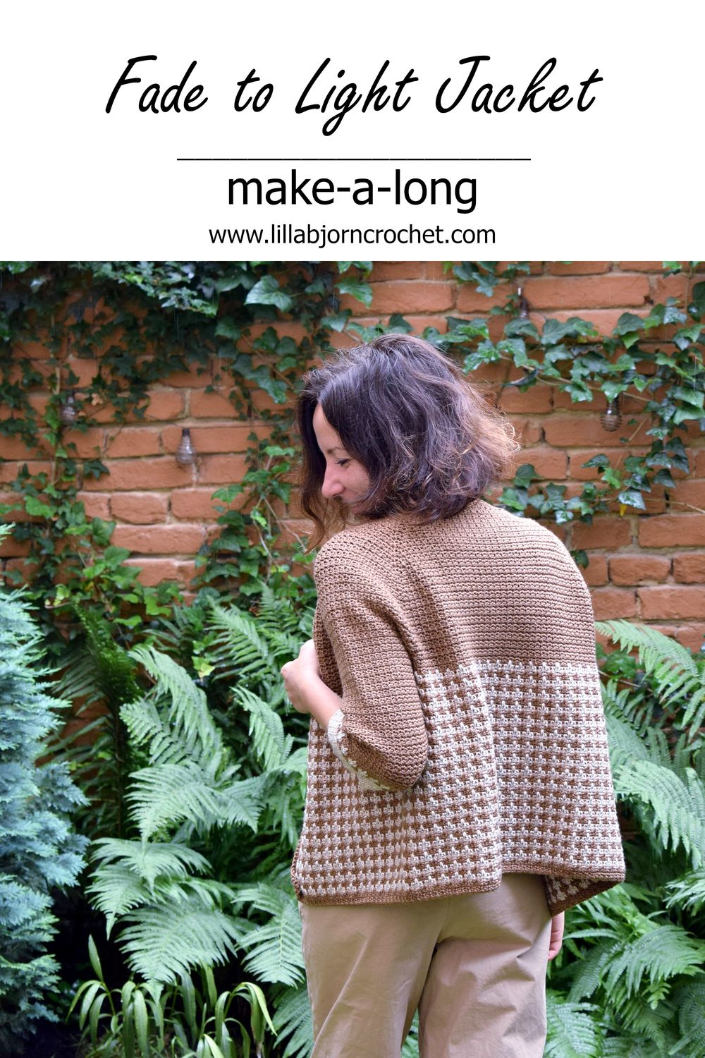 How to make a crochet garment