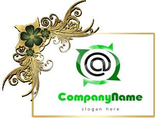 تحميل تصميم شعار حرف مفتوح للفوتوشوب,character psd logo design download @