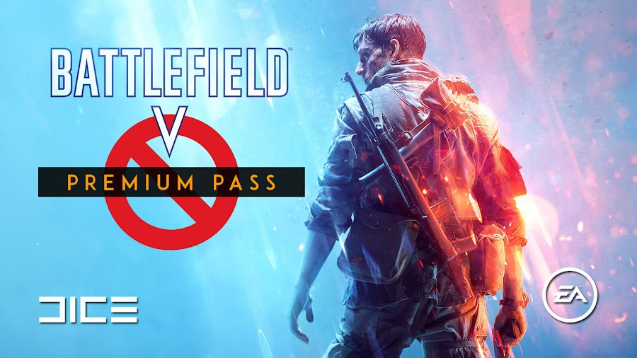 battlefield v no premium pass ea dice electronic arts pc ps4 xb1