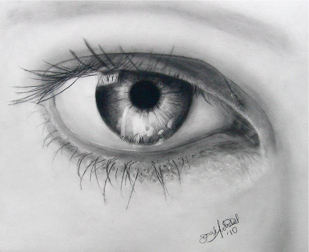 Eye Drawing 3d