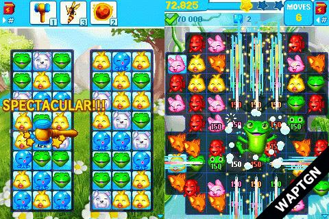 Puzzle Pets Popping Fun