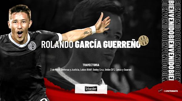 Oficial: Patronato, firma Rolando Guerreño