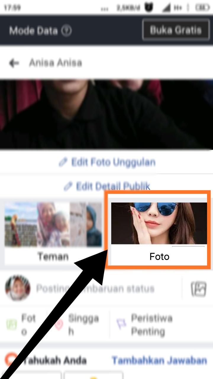 cara menghapus foto unggah seluler di facebook dengan cepat