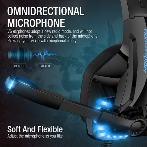 B-Qtech Xbox One Gaming Headset with Microphone