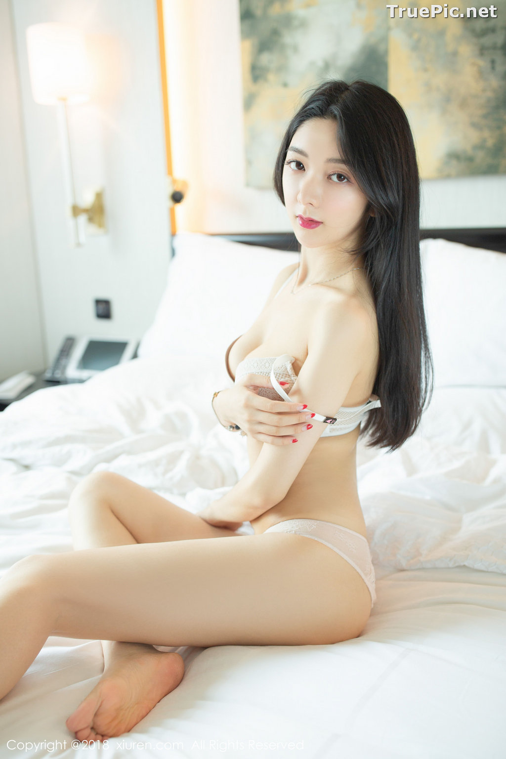 Image XIUREN No.1141 - Chinese Model - Xiao Reba (Angela小热巴) - Sexy Dress Tonight - TruePic.net - Picture-44