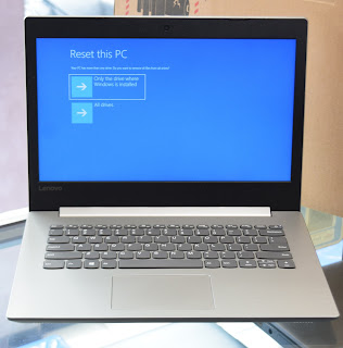 Jual Laptop Lenovo ideapad 330-14AST AMD A9 Fullset