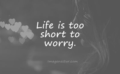 short quotes life is too short to worry