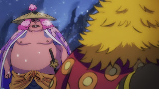 ワンピースアニメ 992話 ワノ国編   ONE PIECE アシュラ童子