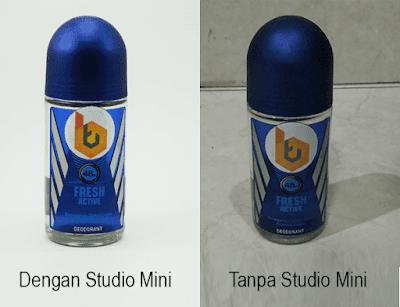 Trik membuat foto yang bagus dengan Studio mini