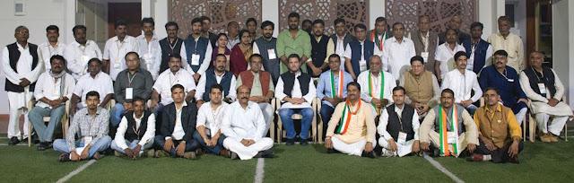 ज्ञानचंद आहूजा बने अखिल भारतीय असंगठित वर्कर कांग्रेस हरियाणा के चेयरमैन