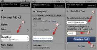 Cara Mengganti Alamat Email Utama Facebook Lewat Hp